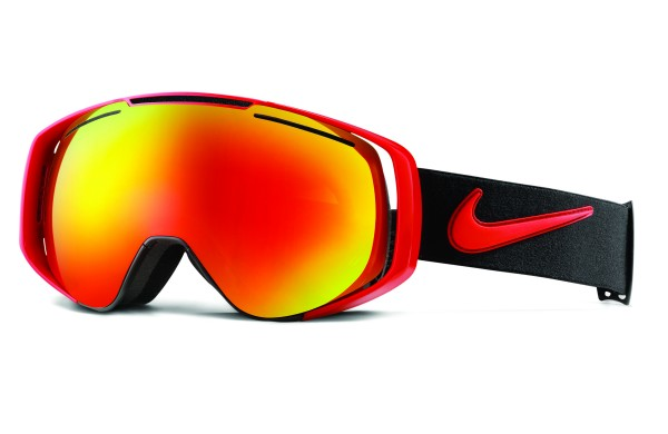 Nike SB Khyber Snow Goggle University Red/Black - Red Ion + Yellow Red Ion