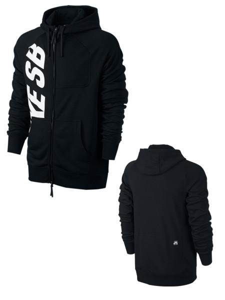 Nike SB Lightweight Everett Dri-FIT Full-Zip black/white