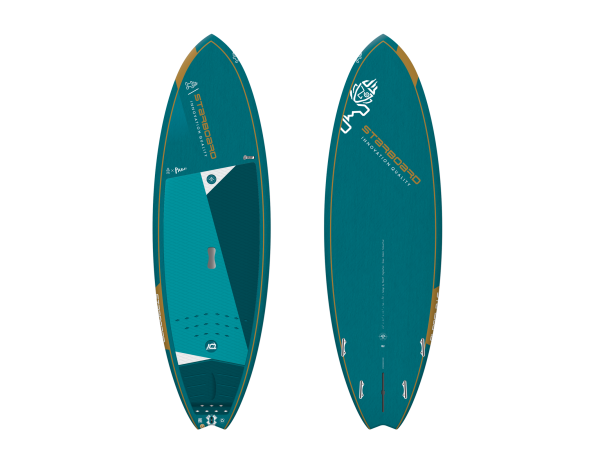"""Starboard Pro 6'8"""" Blue Carbon SUP"""