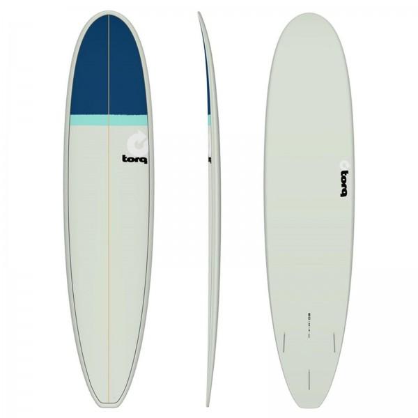 """TORQ 8'0"""" Epoxy TET Longboard Classic Surfboard"""