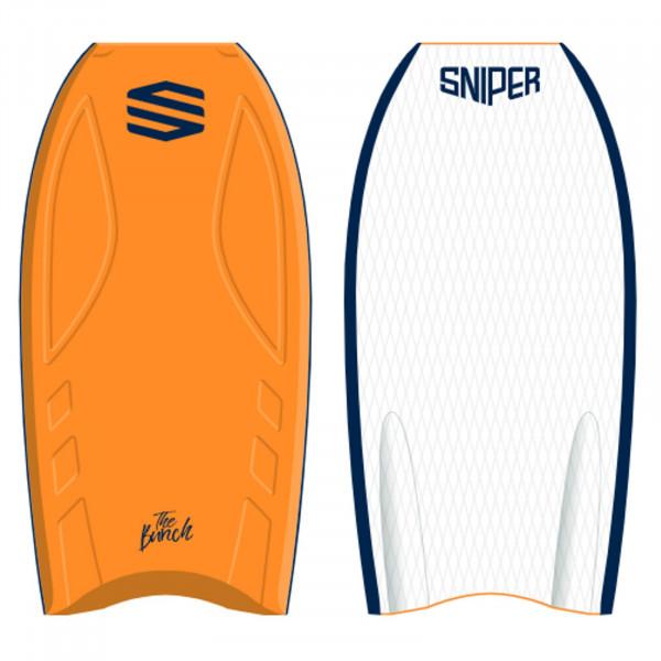SNIPER Bodyboard BunchII EPS Stringer 41 Orange