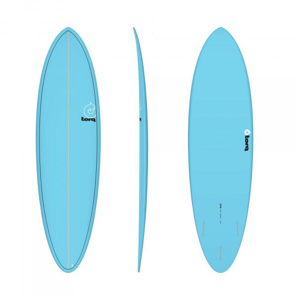 Surfboard TORQ Epoxy TET 6.8 Funboard Blue