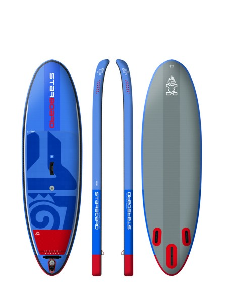"Starboard 9'0"" Converse Surf Deluxe DC iSUP 2018"