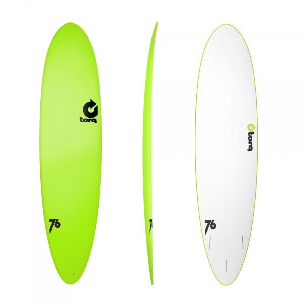 Surfboard TORQ Softboard 7.6 Funboard Grün