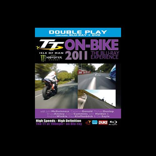 TT 2011 On-Bike Blu-Ray and DVD