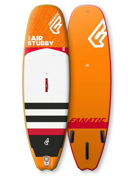 """Fanatic 8'6"""" Stubby Air iSUP Wave Board 2018"""