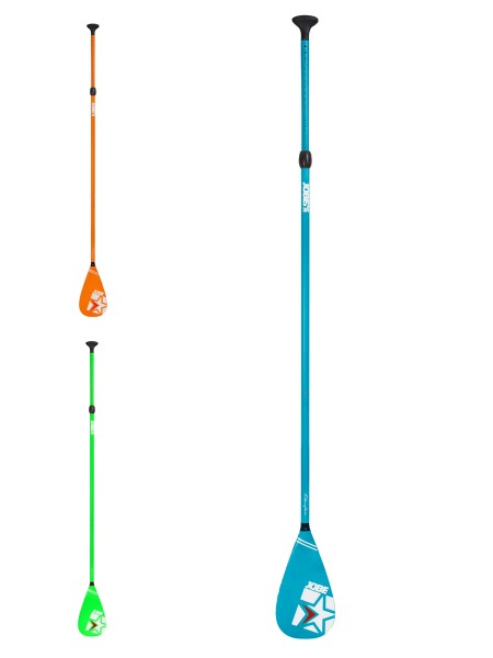 Jobe Fiberglass 3teiliges SUP Paddel (verschied. Farben)