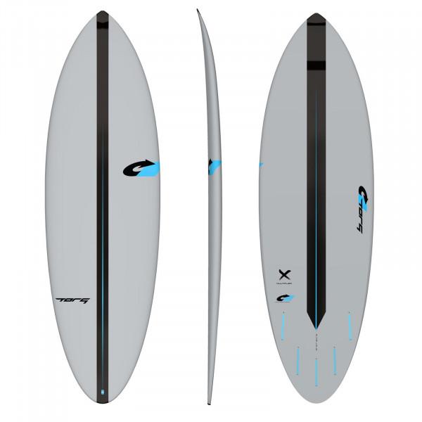 Surfboard TORQ ACT Prepreg Multiplier 5.8 Grau