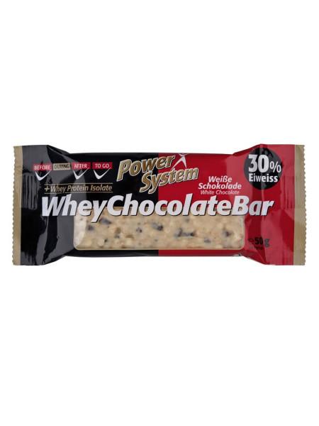 PowerSystem Whey Crispy Chocolate Bar Proteinriegel