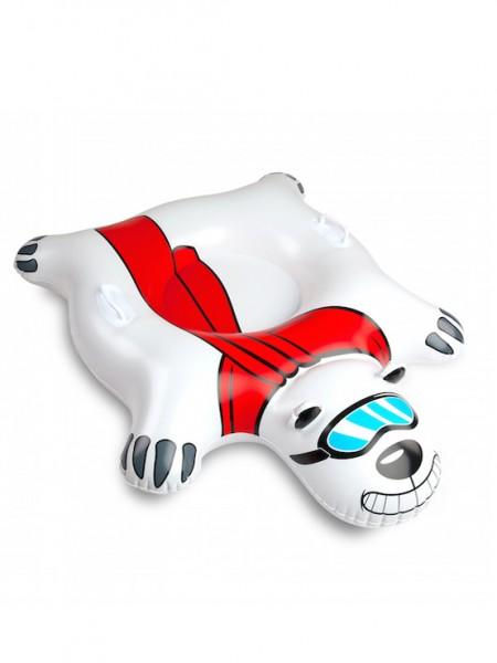 Big Mouth Giant Polar Bear Snowtube