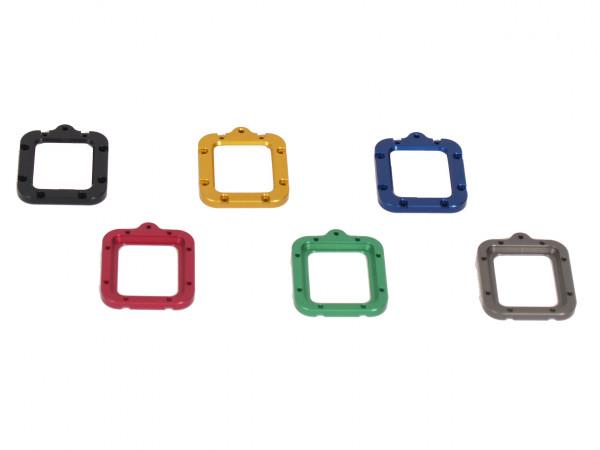 KINGTIDE Aluminium Safety Lens Ring Hero 3 und Hero 3+, 4 60m Gehäuse