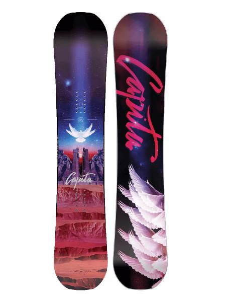 Capita Space Metal Fantasy Women Snowboard 2018