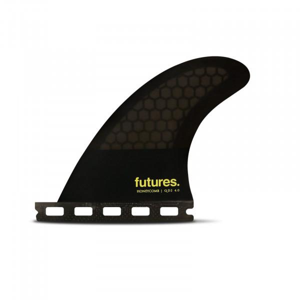 FUTURES QD2 4.00 Sym Honeycomb Quad Finnen
