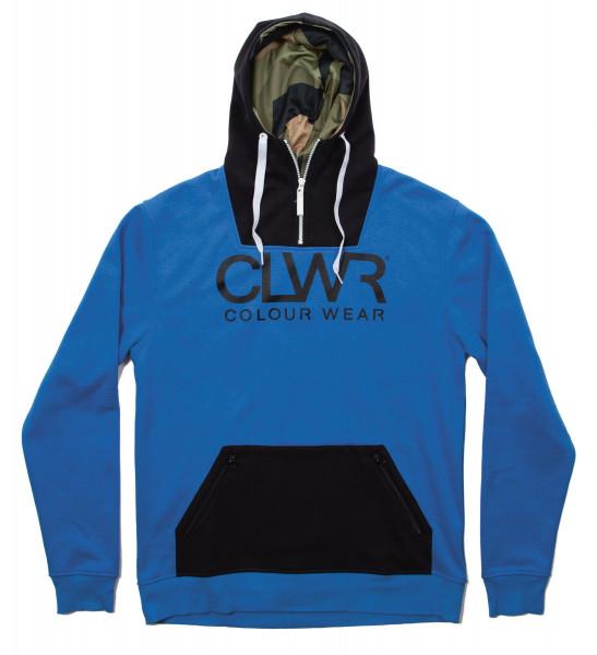 Colour Wear Park Hoodie blue