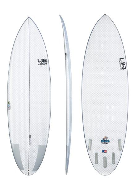 """Lib Tech Nude Bowl 6'1"""" Surfboard"""