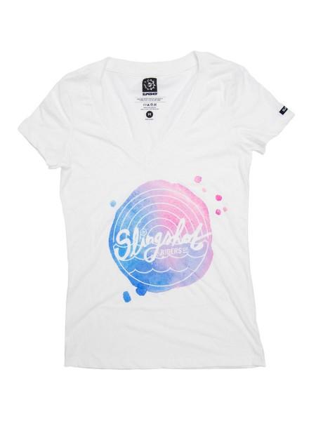 Slingshot Watercolor Women T-Shirt