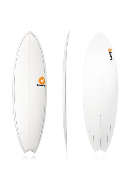 """TORQ Epoxy TET 5'11"""" Fish Pinlines Surfboard"""