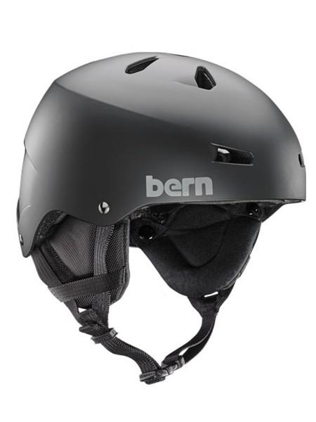Bern Macon EPS Snow/All Season Helm with Audio Liner