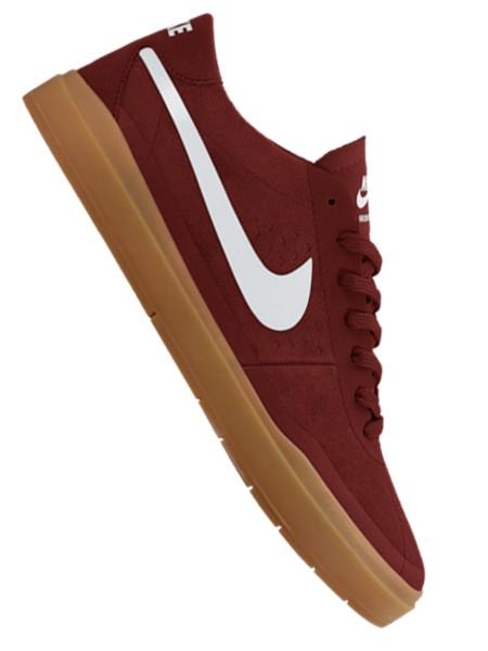 Nike SB Bruin Hyperfeel Sneaker dark cayenne/white-gum light brown