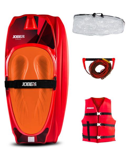 Jobe Streak Kneeboard Paket Rot