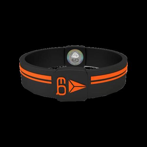 EQ - Hologramm Armband black/orange