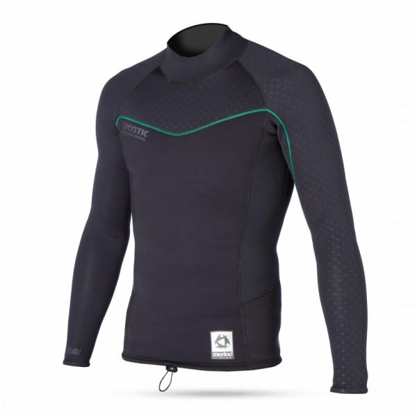 Mystic Merino Vest L/S Thermal Layer black
