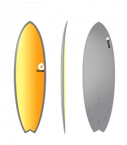 Surfboard TORQ Epoxy TET 5.11 Fish Full Fade