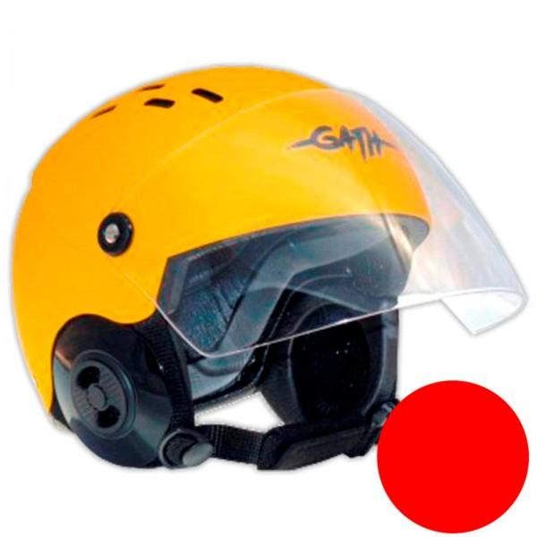 GATH Helm RESCUE Safety Rot matt XL SMOKE Visier