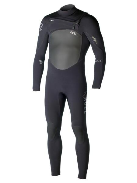 Xcel Revolt X2 4/3mm Wetsuit black
