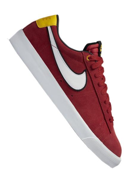 Nike SB Blazer Low GT Sneaker university red/white-black