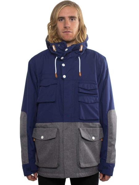 Colour Wear Shelter Jacket patriot blue