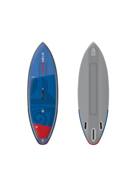 "Starboard Surf 8'0"" Deluxe DC iSUP 2019"
