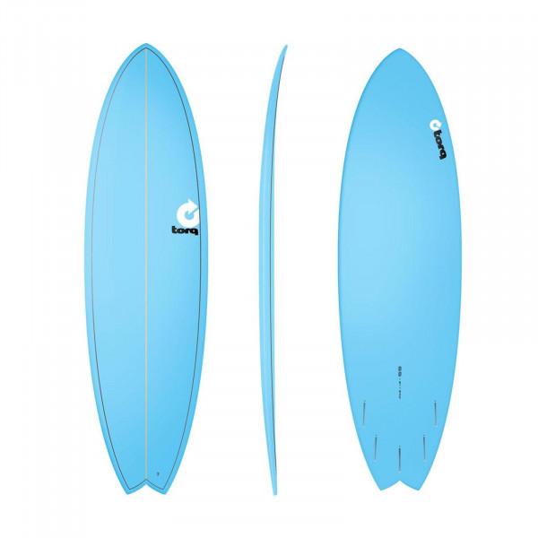 Surfboard TORQ Epoxy TET 6.6 Fish Blue