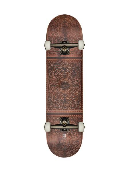 Globe Rug Burn Complete Skateboard red