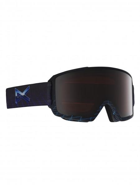 Anon M3 MFI Skibrille + Facemask + Zweitglas