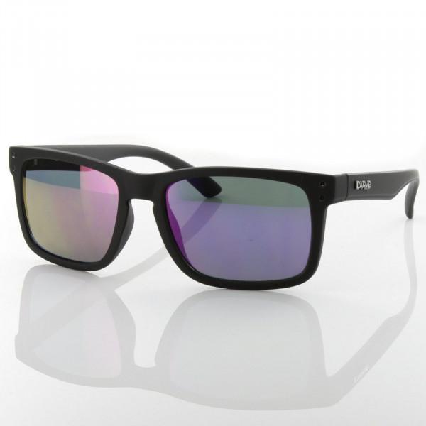 CARVE Sonnenbrille Goblin Schwarz Matt Purple
