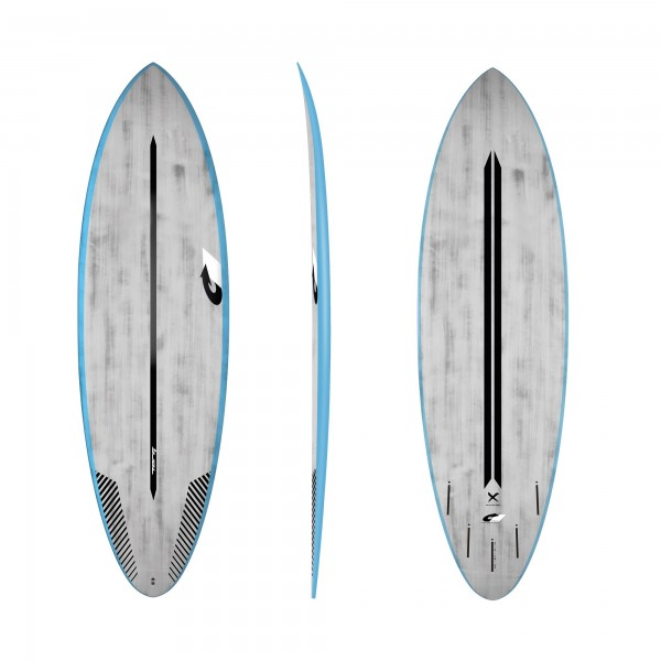 Surfboard TORQ ACT Prepreg Multiplier 5.8 BlueRail