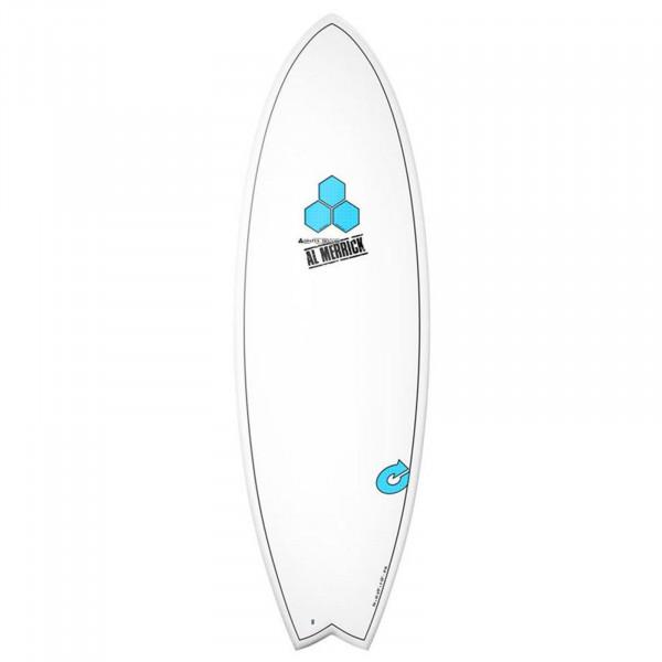Surfboard CHANNEL ISLANDS X-lite Pod Mod 5.10 weis