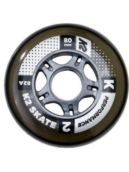 K2 80 mm Performance Wheel 4er Pack