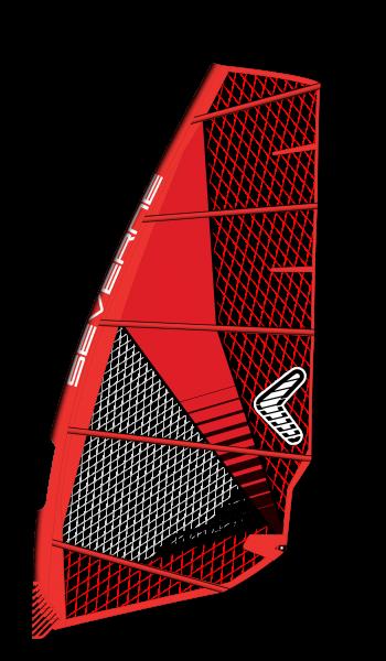 Severne Convert Red Windsurf Segel