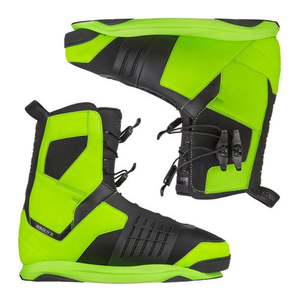 Ronix Preston Wakeboard Boot 2015 psycho green **B-Ware**
