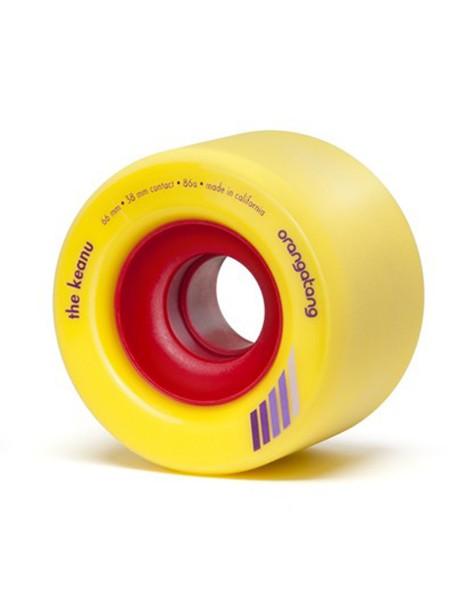Orangatang The Keanu yellow Wheels Set