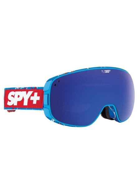 SPY Bravo Snow Goggle Louie Vito - Happy Bronze w/ Dark Blue Spectra + **B-Ware**