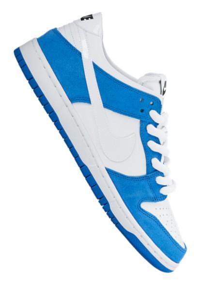 Nike SB Dunk Low Pro Ishod Wair Sneaker blue spark/white-black