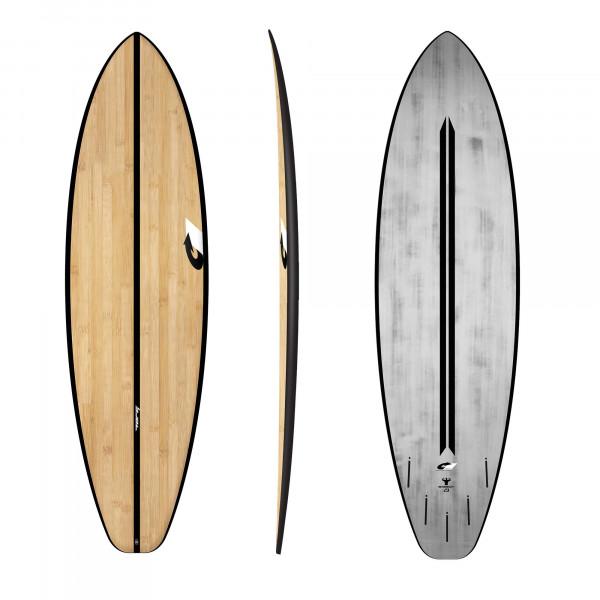 Surfboard TORQ ACT Prepreg BigBoy23 7.2 bamboo