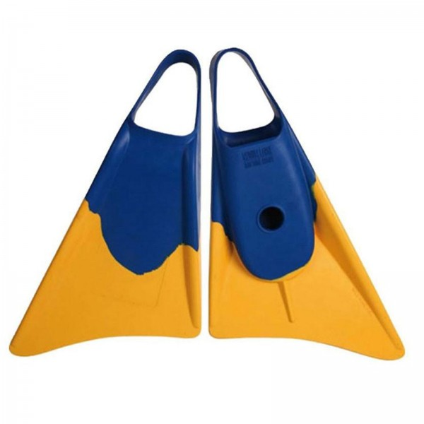 Bodyboard Flosse Weapon S 36-38,5 Blau Gelb
