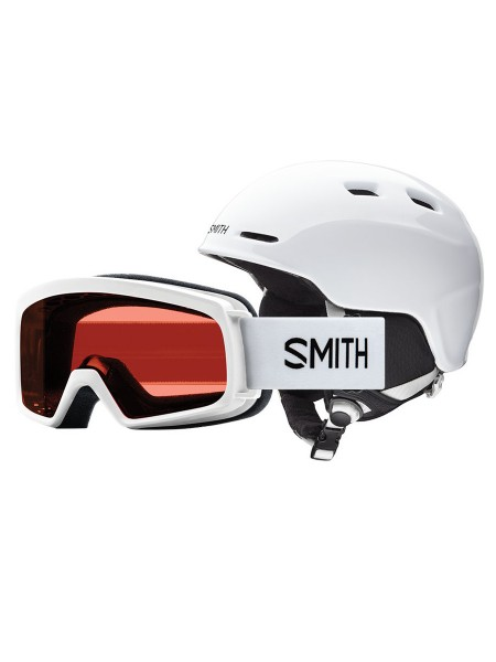 Smith Zoom Jr / Rascal Snowboardhelm + Brille Set 2018