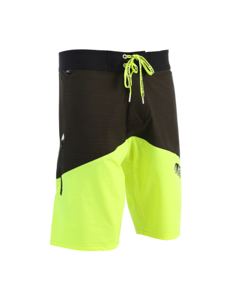 "Picture United 22"" Boardshort fluo yellow"
