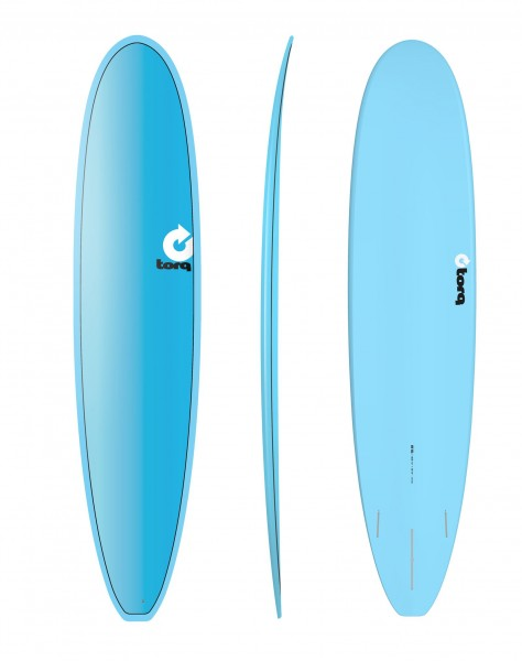 "TORQ 8'6"" Epoxy TET Full Fade Longboard Surfboard"