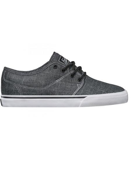 Globe Mahalo black chambray Sneaker